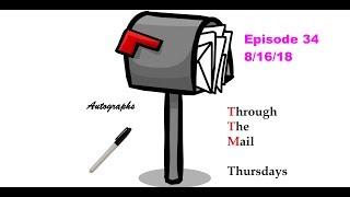 TTM Thursday Episode 34 ( 3 baseball returns & 1 RTS)