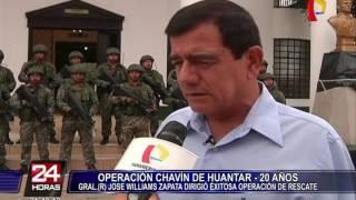 Veinte años después de la operación Chavín de Huantar