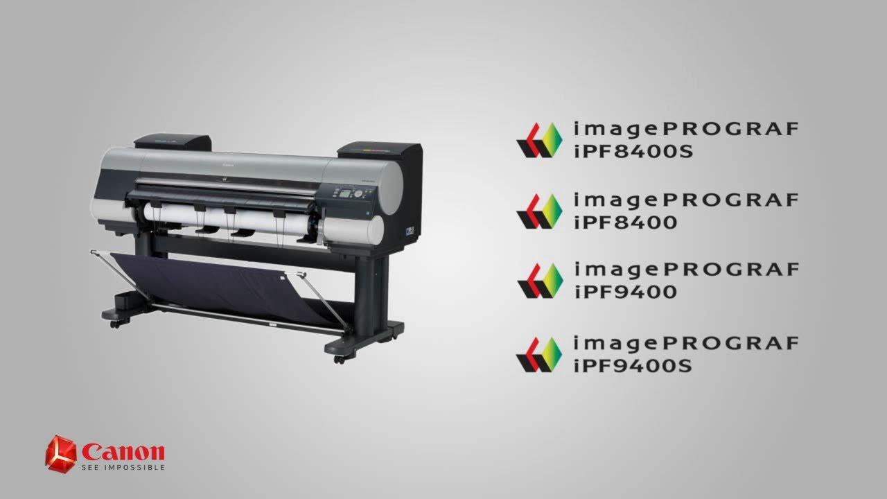 Canon imagePROGRAF iPF8400S Printer Driver for Mac