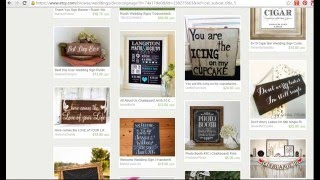 Etsy Shop Critique with SEO Ideas - Devon's Handmade Wooden Sign Business at Salisbury Designs