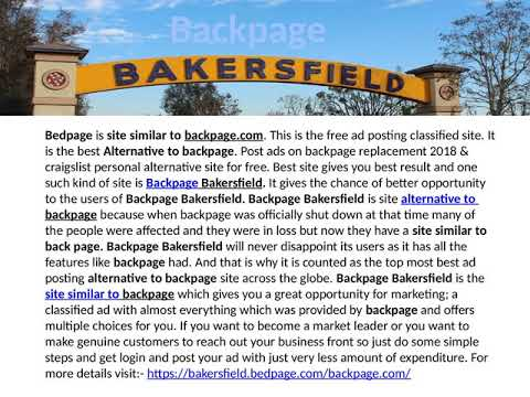 backpage com bakersfield ca