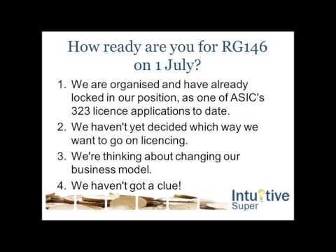 RG146 & Why an SMSF Support Partner may be your best option
