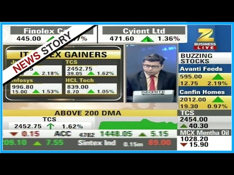 Stocks of Just Dial, TCS, Infosys and HCL Tech are the IT Index Gainers