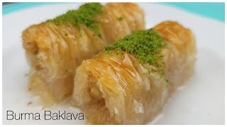 Easiest dessert recipe! so yummy Burma baklava/dessert with honey/Figen Ararat