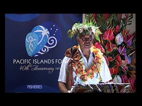 Pacific Islands Forum Secretariat 2012 Annual Leaders' Lecture Series (Pt 3)