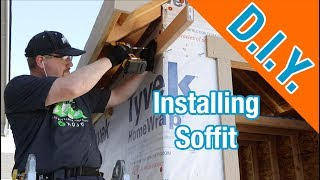 How to Install Soffit and Build Bird Boxes: How To Build A Shed ep 14