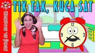 Tik tak, kuca sat Tick Tock Says The Clock Pevaj sa Sandrom Sing With Sandra Decije pe ...