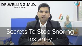 Snoring: 6 Secrets to Stop Snoring