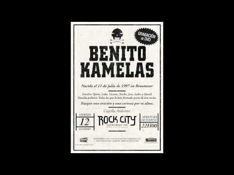 """BENITO KAMELAS: Fin de gira """"Requiem"""" Valencia (Cuña radio)"""