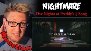 Baixar - Nightmare Five Nights At Freddy S 3 Song By Natewantstobattle Reaction The Kids Grátis