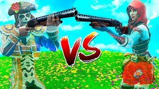 "FORTNITE ITA - STEF VS PHERE FROM INVISIBILI ""NEW BUG"""