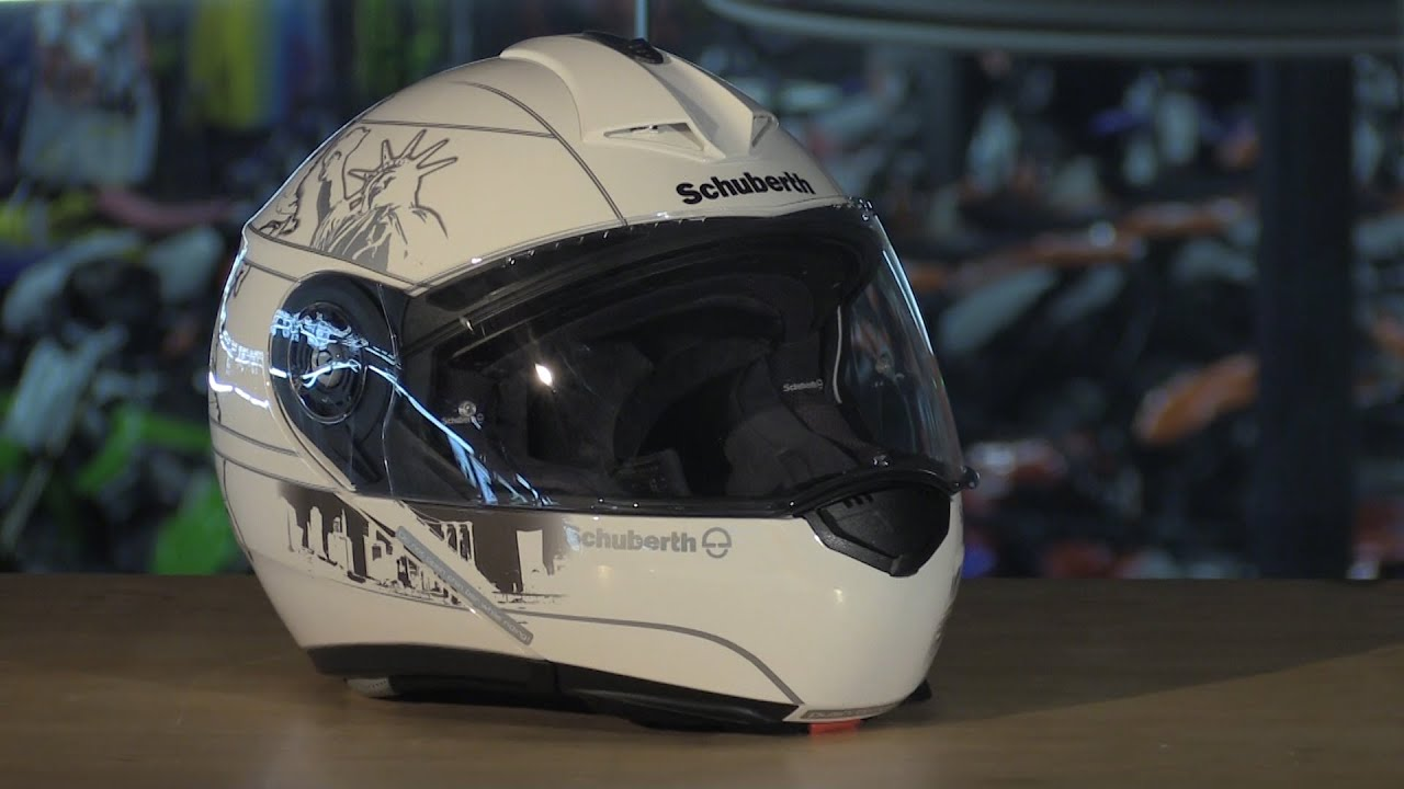schuberth c3 pro modular motorcycle helmet review youtube. Black Bedroom Furniture Sets. Home Design Ideas