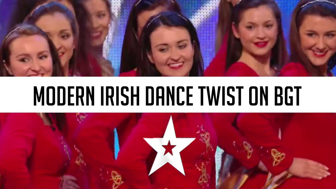 Irish Dancers Surprise the Judges with their Modern Twist