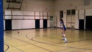 Skills Videos - Nicole Digging Middle Back