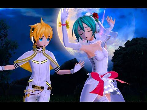 Knife - [White Outfits] Kaito • Miku • Len