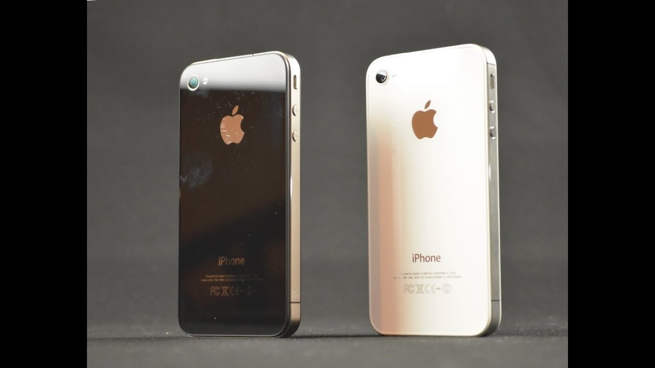 Apple iPhone 4 vs 4S: Video Camera Comparison (Side by ...