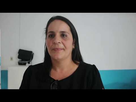 Coordenadora do EDUCAVALE no Encontro de Nova Itarana