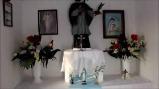 Nowiny Horynieckie - przydrożna kapliczka - Roztocze Wschodnie