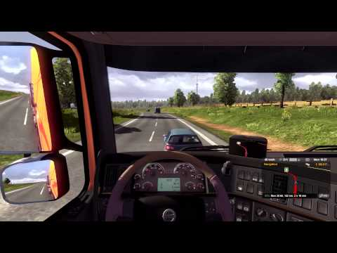 Euro Truck Simulator 2 - Transporting office papers to Amsterdam HD