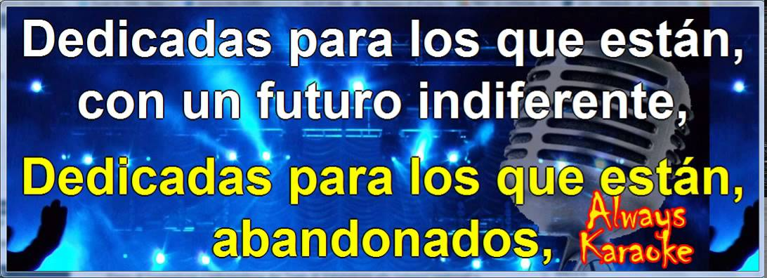 Eros Ramazzotti Si Bastasen Un Par De Canciones Karaoke Lyrics Letra Youtube