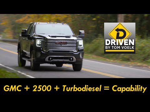 The 2020 GMC Sierra Denali 2500 HD Turbodiesel Is Large And In Charge