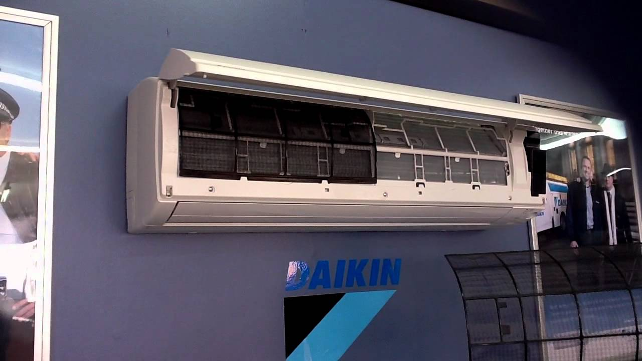 Daikin Wall Mount Filter Clean Instructions Youtube