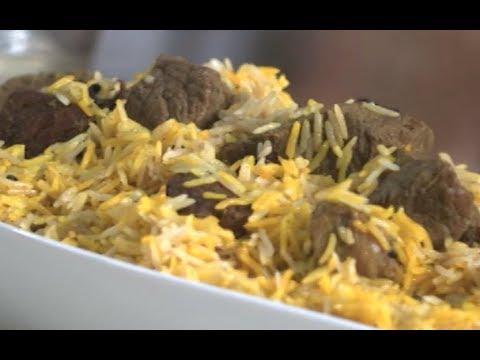 برياني اللحم كنافه بموس الشوكولاته | غفران كيالي | هيك بنطبخ PNC FOOD