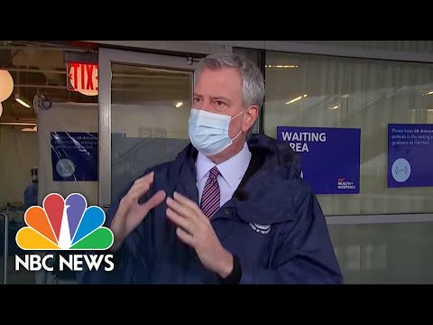 NYC Mayor Urges Parents To 'Have A Plan' If Schools Close Amid Covid Surge | NBC News
