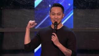 Demian aditya: Escape Artist Risks His Life During AGT Audition America's Got Talent 2017