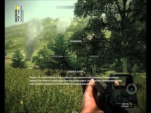"""Смотреть прохождение игры [Coop] Operation Flashpoint 2. Серия 4: """"Оборона деревни..."""""""