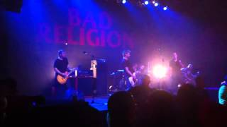 "Bad Religion -- ""Changing Tide"" LIVE at Congress Theater in"