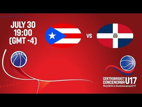 Puerto Rico vs Dominican Republic - Final - Full Game - Centrobasket U17 2017