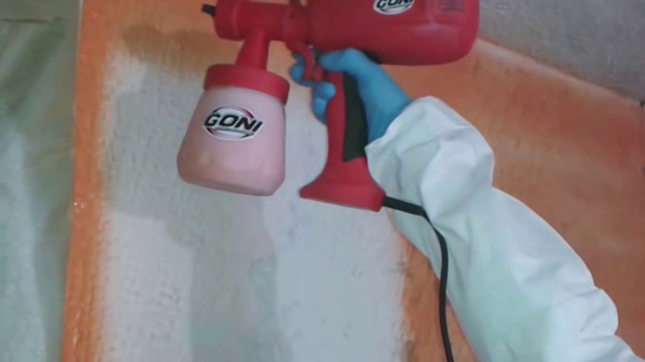 Pintando con la pistola el ctrica goni 3702 youtube - Pintar con pistola electrica ...
