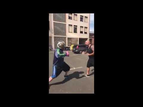 Straßenkampf Techniken Ahmet Kaydul Fight Mentality PFS Demo Selbstverteidigung