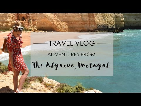 TRAVEL VLOG TO ALGARVE PORTUGAL | PHOEBE GREENACRE | WOOD and LUXE