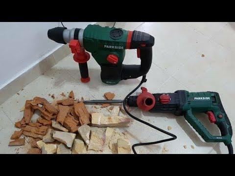 PARKSIDE Hammer Drill PBH 1050 B2 & PBH 1500 D4 TESTING