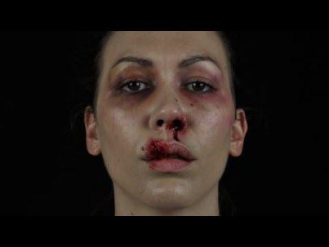 Bloody bruises - sfx and makeup tutorial