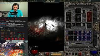 Diablo 2 - Hell Sorceress SC Speedrun - Personal Best!