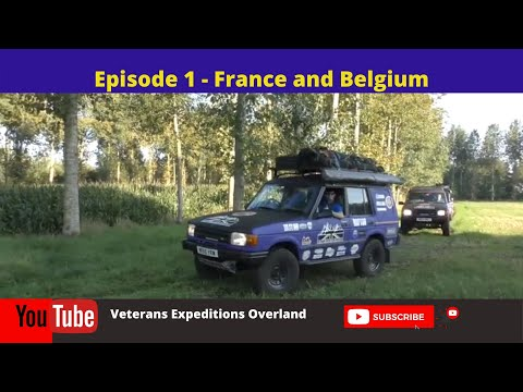 Season 2 Episode 1 Day 1 Disaster - Land Rover Expedition UK To Greece And Back