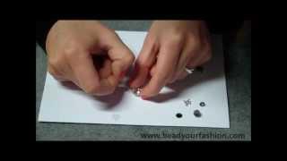 Sieraden maken -- Techniek 8: Similli- en plakstenen in kastjes lijmen of bevestigen Thumbnail