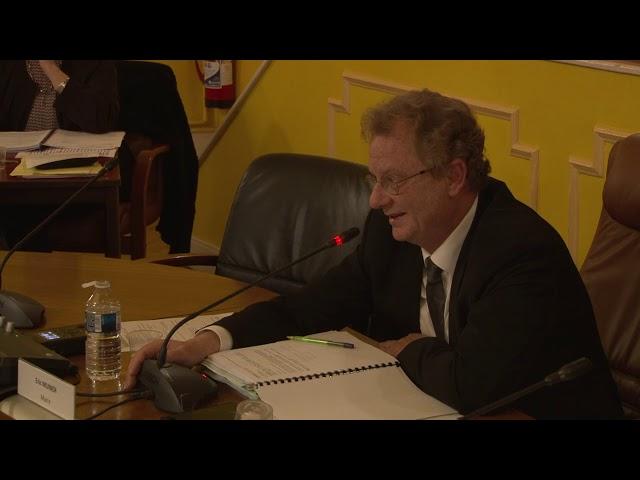 Séance du Conseil Municipal d'Amnéville
