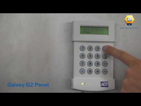 How to add a fob - Galaxy G2 Panel - ADT UK