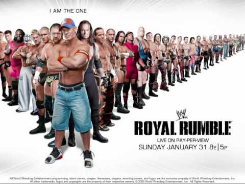 WWE Royal Rumble 2010 Offical Poster + Theme + Download link (Hero) Skillet (HQ)