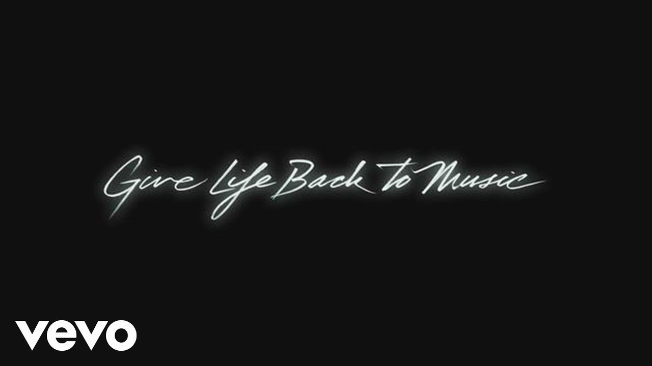 Daft Punk - Give Life Back to Music (Official Audio) - YouTube