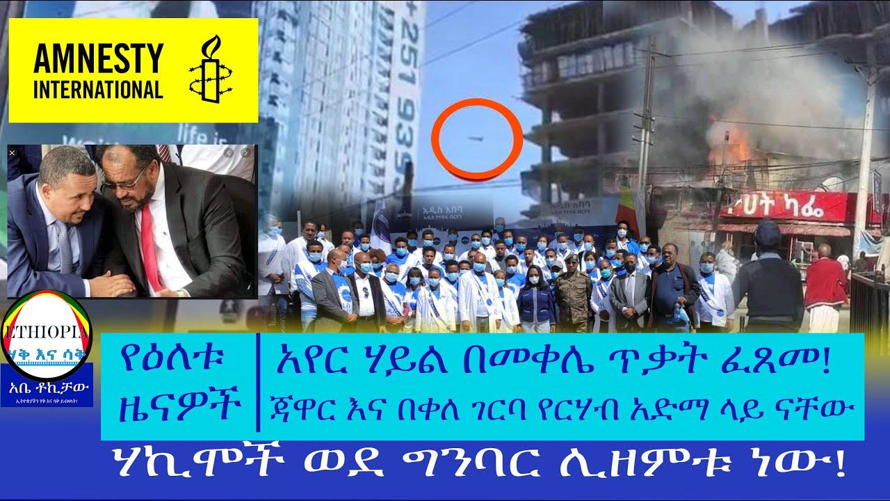 Jawar and Bekele Gerba Hunger strike