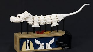 flight of the Luck Dragon - Kinetic LEGO Model