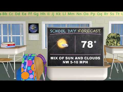 Thursday Midday PinPoint Forecast