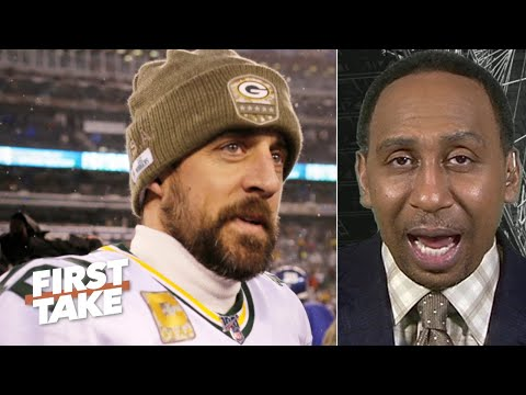 Stephen A. puts Aaron Rodgers' 'down year' into perspective   First Take