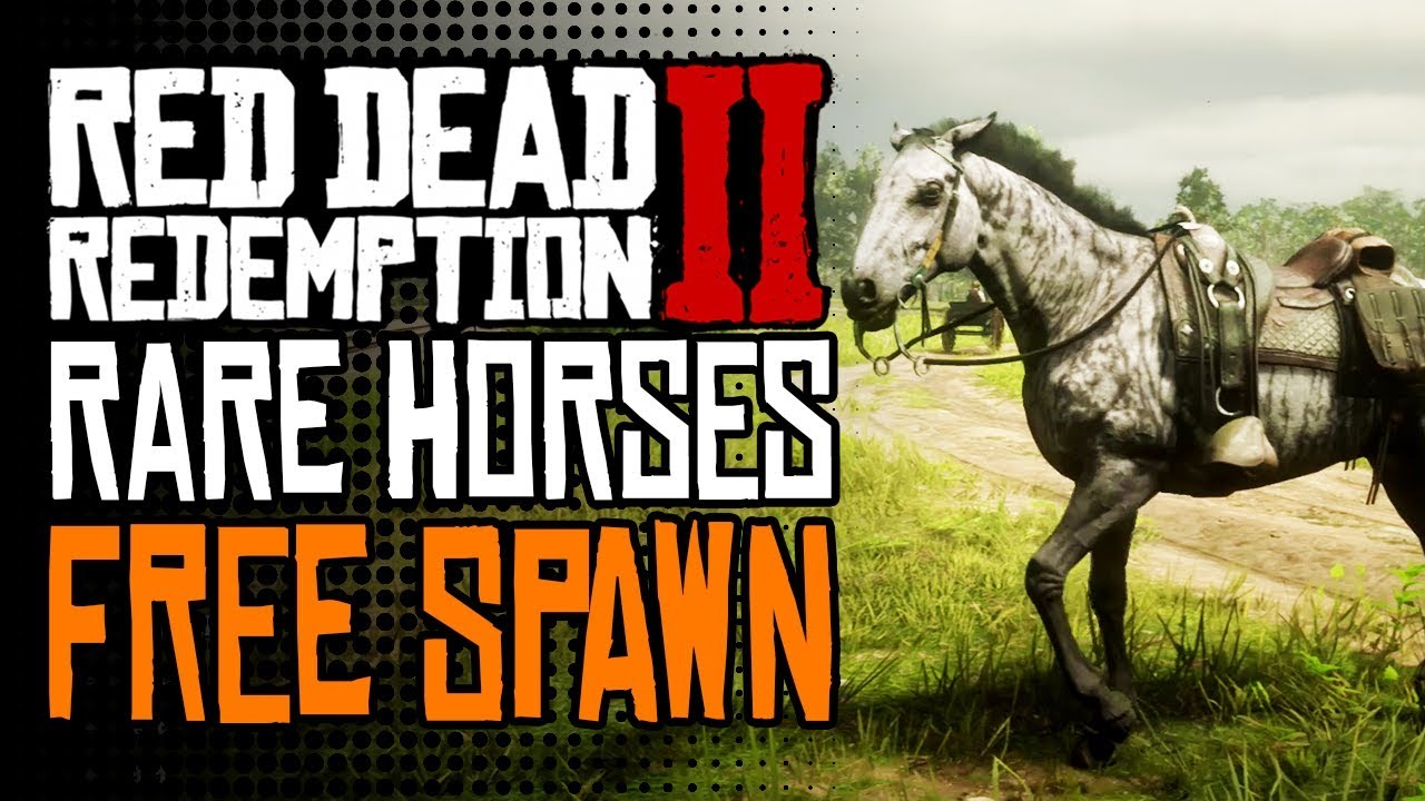 How-to Get the Fastest & Rarest Horses in Red Dead
