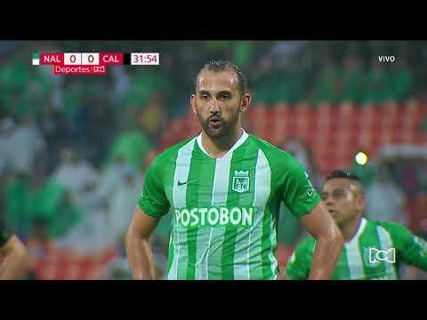 Nacional 1-0 Cali: gol Hernán Barcos I Deportes RCN